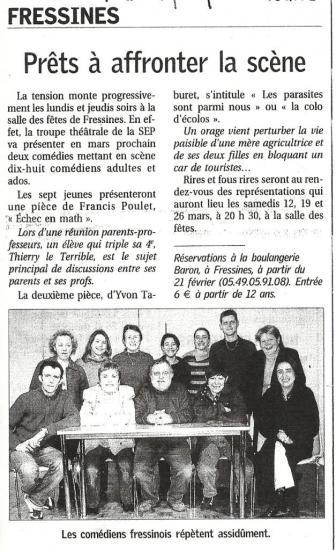 La NR du 13/02/2005