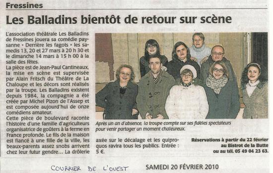 CO du 20/02/2010