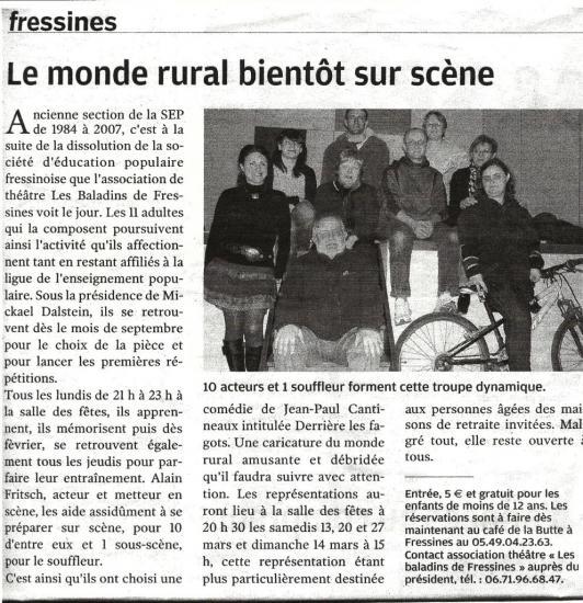 La NR du 25/02/2010