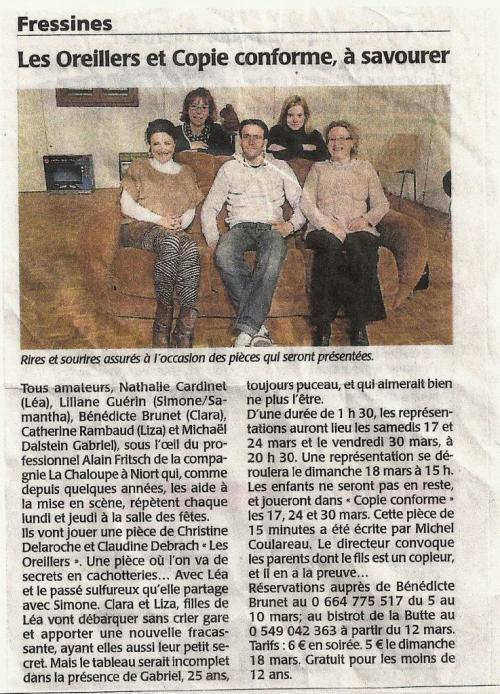 La NR (february 2012 ?)
