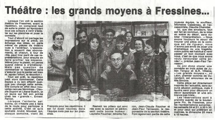 La NR du 14/03/1990